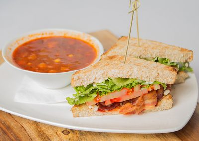 BLT & Daily Soup